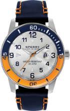 Sperry Silicone Diver Watch Orange/navy, Size One Size Men's