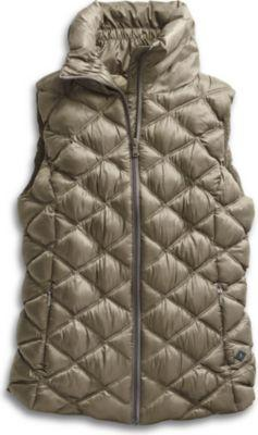 Sperry Puffer Vest Gold, Size Xs