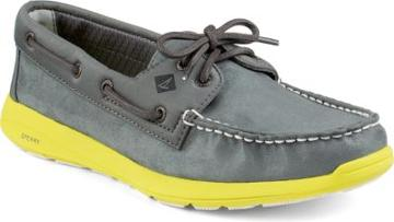 Sperry Paul Sperry Sojourn Shoe Grey, Size 7.5m Men's Shoes