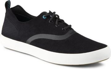 Sperry Flex Deck Cvo Microfiber Sneaker Black, Size 7.5m