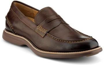 Sperry Gold Cup Bellingham Asv Penny Loafer Darkbrown, Size 7m Men's