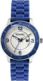 Sperry Silicone Strap Link Watch Navy, Size One Size Women's