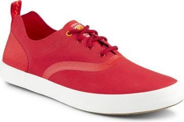 Sperry Flex Deck Cvo Microfiber Sneaker Riskred, Size 7.5m