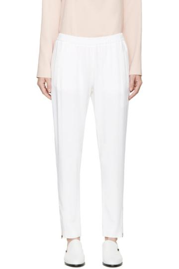 Stella Mccartney White Tamara Trousers