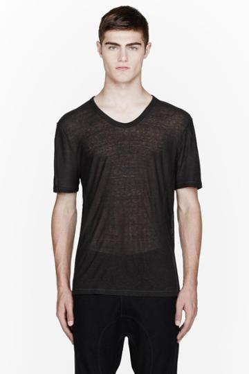 T By Alexander Wang Washed Black Pill T-shirt