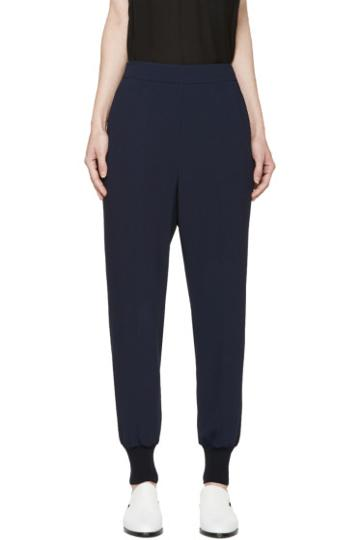 Stella Mccartney Navy Julia Trousers