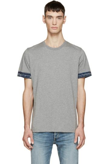 Diesel Grey T-marshall T-shirt