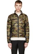 Canada Goose Green Camo Hybridge Light Jacket