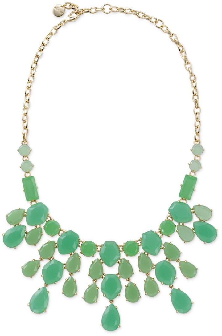 Stella & Dot Linden Necklace - Green