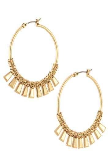 Stella & Dot Bungalow Hoops