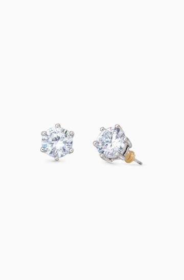 Stella & Dot Sparkle Studs - Silver