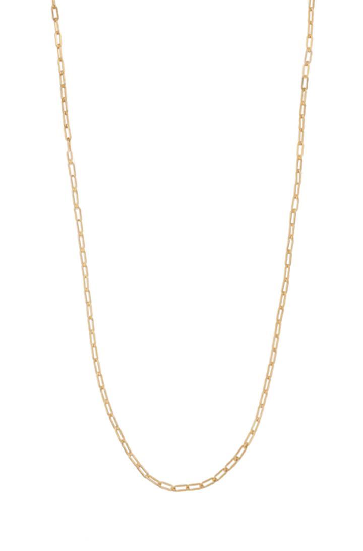 Stella & Dot 30  Open Link Chain - Gold