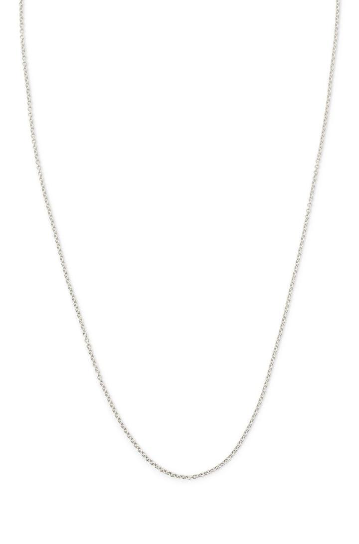 Stella & Dot 16  Delicate Chain - Silver