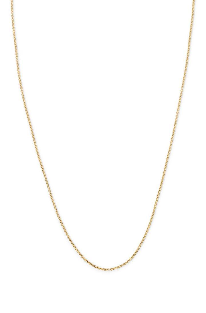 Stella & Dot 16  Delicate Chain- Gold
