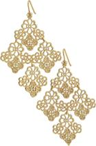 Stella & Dot Chantilly Lace Chandelier Earrings