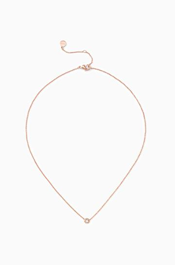 Stella & Dot The Wishing Necklace - Rose Gold