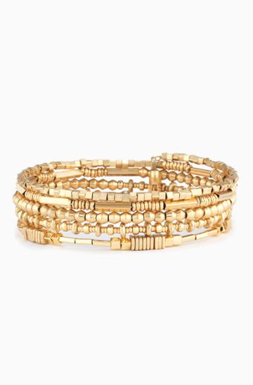 Stella & Dot Celine Wrap Bracelet - Gold