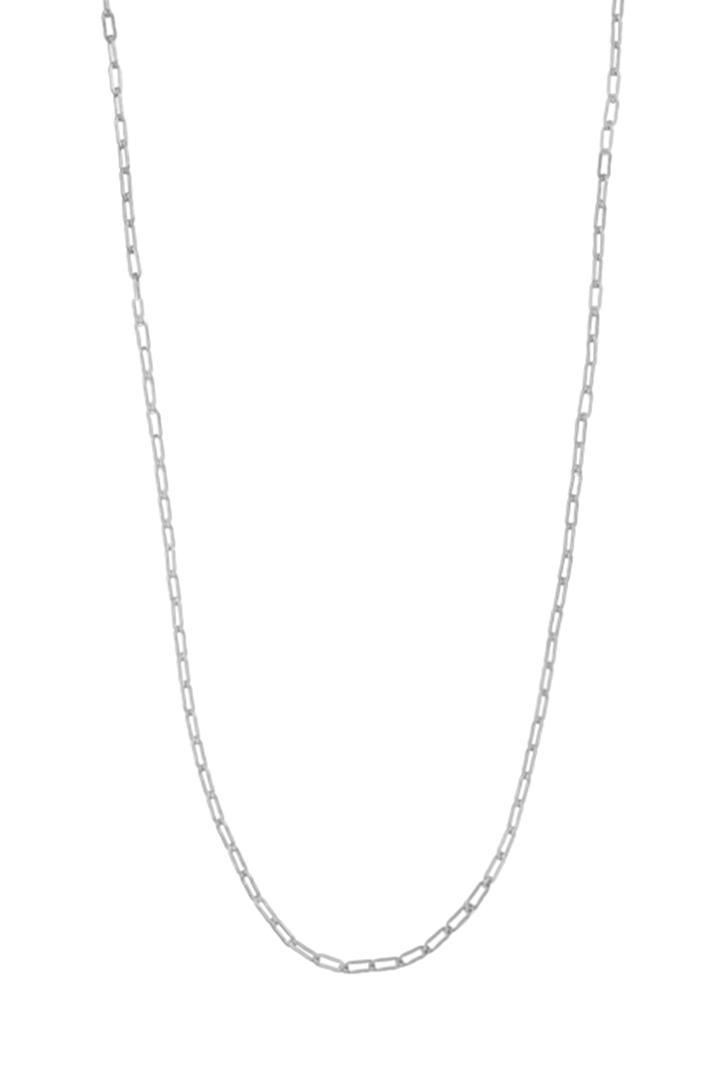 Stella & Dot 30  Open Link Chain - Sterling Silver