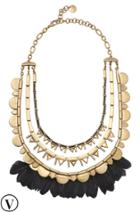 Stella & Dot Plume Necklace