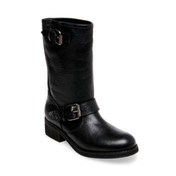 Lenora Black Leather