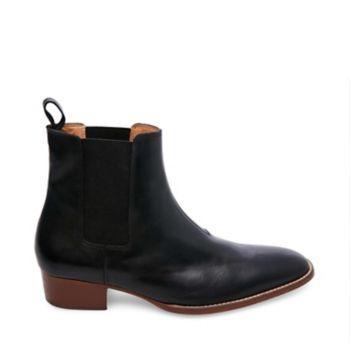 Dex Black Leather