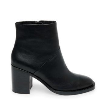 Tenley Black Leather