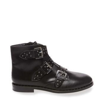 Smokey Black Leather