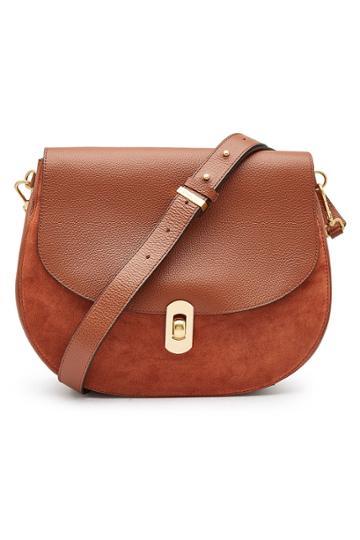 Coccinelle Coccinelle Zaniah Leather Shoulder Bag