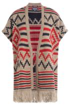 Woolrich Woolrich Printed Cape With Alpaca And Wool