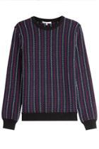 Carven Carven Knit Cotton Pullover - Multicolored