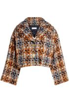Sonia Rykiel Sonia Rykiel Cropped Tweed Jacket With Wool