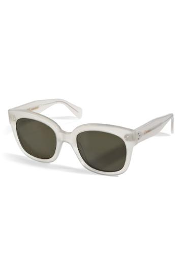 Céline Eyewear Céline Eyewear New Audrey Sunglasses In Opal - None