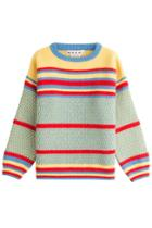 Marni Marni Striped Virgin Wool Pullover