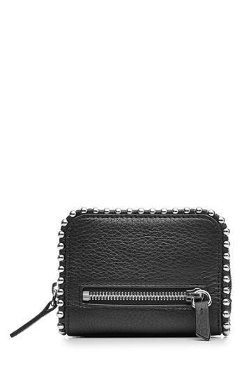 Alexander Wang Alexander Wang Embellished Leather Wallet