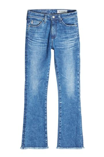Adriano Goldschmied Adriano Goldschmied Cropped And Flared Jeans - Blue