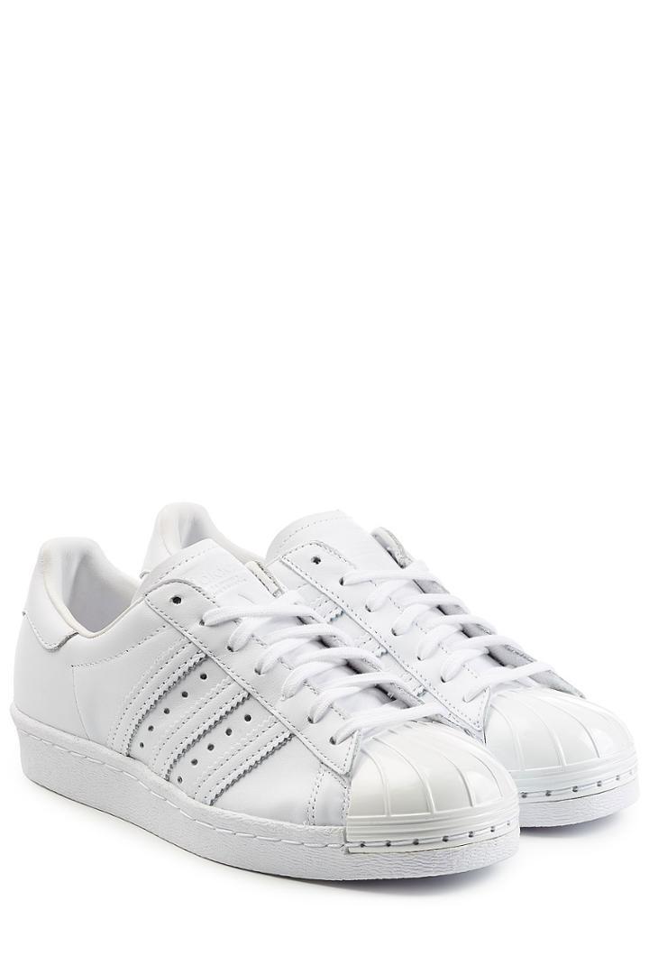 Adidas Originals Adidas Originals Superstar Leather Sneakers - White