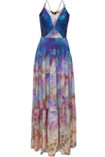 Peter Pilotto Peter Pilotto Printed Silk Cami Dress