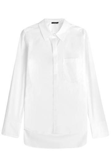 Donna Karan Donna Karan Cotton Shirt - White