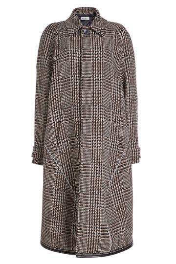Balenciaga Balenciaga Printed Coat With Virgin Wool