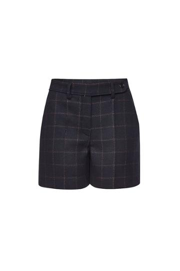 Red Valentino Red Valentino Shorts With Wool