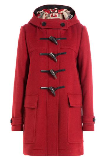 Burberry Brit Burberry Brit Wool Duffle Coat