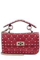Valentino Valentino Rockstud Small Leather Shoulder Bag