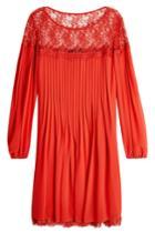 The Kooples The Kooples Chiffon And Lace Dress