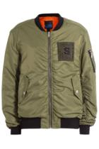 Sjyp Sjyp Bomber Jacket With Contrast Lining
