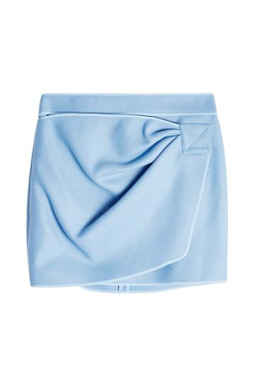 N 21 N°21 Felted Mini Skirt With Wool And Cashmere