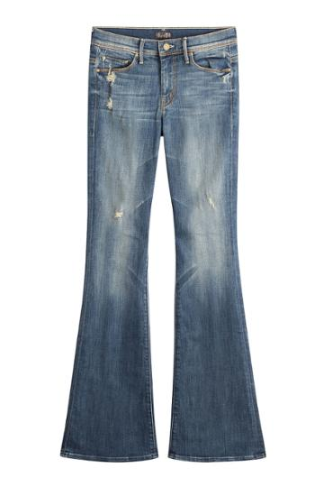 Mother Mother Flared Jeans - None