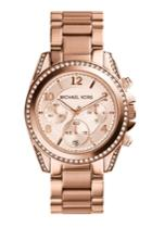 Michael Kors Collection Michael Kors Collection Blair Rose Gold-tone Stainless Steel Chronograph Watch