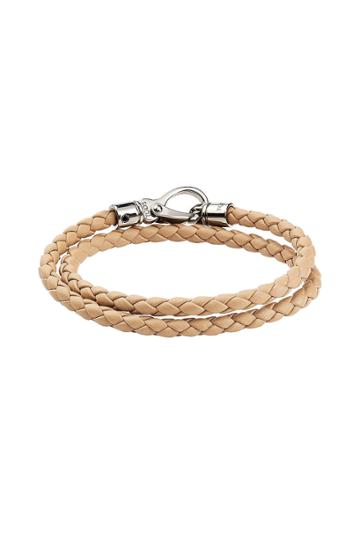 Tod's Tod's Woven Leather Bracelet