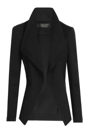 Donna Karan Donna Karan Jersey Blazer - Black