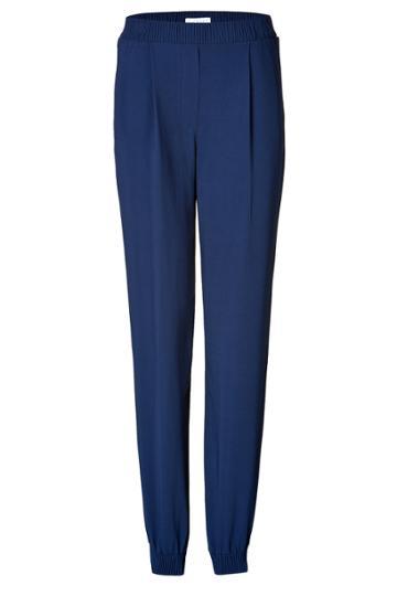 Vionnet Vionnet Crepe Pants - Blue